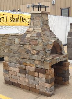 Outdoor Pizza Oven Formerly Lumbermen's Hearth and Home Brick Oven Outdoor, Pizza Oven Outdoor, Outdoor Cooking, Outdoor Kitchens, Outdoor Rooms, Outdoor Living, Pizza Oven Fireplace, Brick Fireplace, Airstone Fireplace