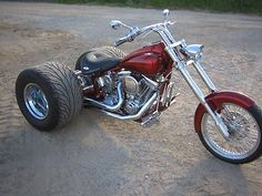 Motorcycles : Trike Hot Rod Custom