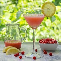 Goji Berry Martini recipe