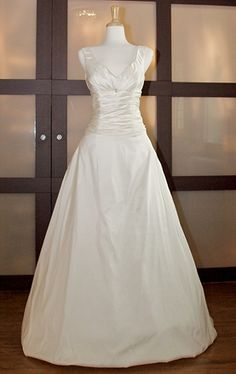 I absolutely love this dress! It is so simple, yet elegant and gorgeous!