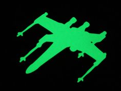 X-Wing glowing in the dark sticker Star Wars