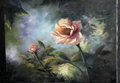 Paint with Kevin Hill - Colorful Pink Rose Art Floral, Oil Painting Lessons, Painting Videos, Lily Painting, Painting & Drawing, Kevin Hill Paintings, Acrylic Painting Tutorials, Art Oil, Art Tutorials