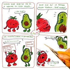 ~ AcT ~ 4 #aguacatecontomate #aguacate #tomate #comic #humor