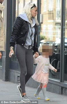 Stylish:Petra completed the look with her own pair of hard to find monochrome Yeezys...