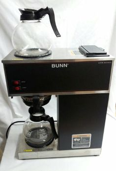 My Associates Store   BUNN VPR Commercial 12 Cup Pour Over Coffee Brewer,