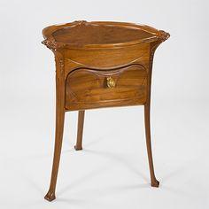 hector guimard art nouveau | Tavole - French Art Nouveau table - Hector Guimard