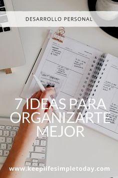 we life is good Keep Life Simple, Bullet Journal School, Study Inspiration, Study Motivation, Life Organization, Study Tips, Plans, Time Management, Self Improvement