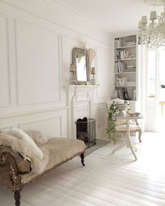 French style with Nordic palette