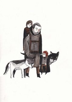 Game of Thrones watercolour fan art printed on A4 300gsm evolution, all prints are signed and numbered
