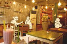 Café Conan in Hongdae, Seoul