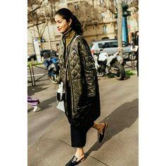 Casaco acolchoado  @fashion_stiles_trends