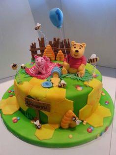 Kuchen dekorieren mit fondant