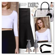 """""""Black and white"""" by duma-duma ❤ liked on Polyvore featuring Rimmel, GUESS, Zimmermann and Ralph Lauren"""