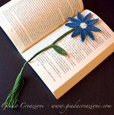 Crochet bookmark gift idea
