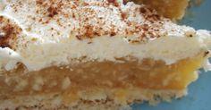 Apfel-Pudding-Kuchen