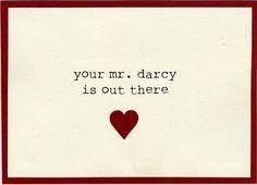 Ah Darcy....
