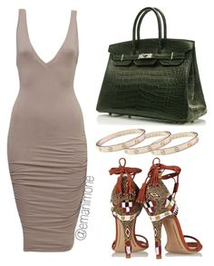 018 by emanimone on Polyvore featuring polyvore, fashion, style, Etro, Hermès and Cartier