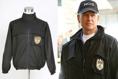 NCIS Staff Jacket Veste Uniforme Noir Costume Cosplay - *Taille Standard*