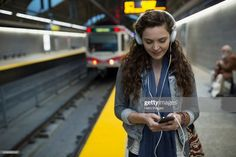 View top-quality stock photos of Young Woman Listening Music Headphones Subway Station Platform. Find premium, high-resolution stock photography at Getty Images. Afraid Of Commitment, Commitment Issues, Learning A Second Language, Learn A New Language, Attachment Theory, Online Quizzes, Rosetta Stone, Commute To Work, British English