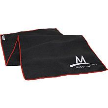 MISSION Athletecare Enduracool Instant Cooling Towel.  Just wet the towel and snap it into the air to activate the cooling system.  Mocrofiber fabric regulates how fast the liquid evaporates, which means the icy-cold sensation will last!