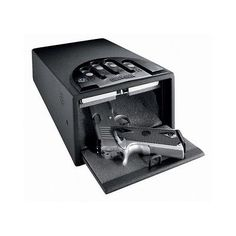 Gunvault Mini Vault Deluxe Safe Black Standard Gun Safe Pistols Jewlery NEW