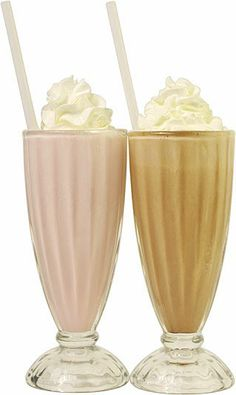 Milkshakes are sweet sips for a sweltering day. An ice-cold blend of ice cream and milk, milkshakes taste even better topped off with whipped cream and a cherry.