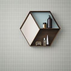 Ferm Living - Wonder Wall Mirror - Smoked Oak