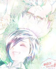 Kaneki x Touka 💜 Kaneki Y Touka, Ken Kaneki Tokyo Ghoul, Nalu, Manga Anime, Anime Art, Tokyo Ghoul Fan Art, Tokyo Ghoul Wallpapers, Dark Souls, Cool Artwork