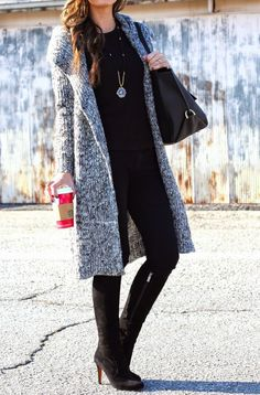 For All Things Lovely: Cozy Cardi