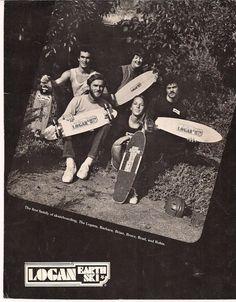 A family photo- The First Family of skateboarding...Logan Earth Ski