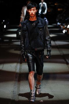 Philipp Plein Spring 2016 Menswear Fashion Show Collection