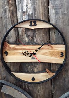 The most amazing wooden clocks