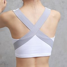 5738f33710805 HEAL ORANGE Women s Sports Bra Yoga Running Vest Gym Shirt Fitness Push Up  Tank Top Breathable