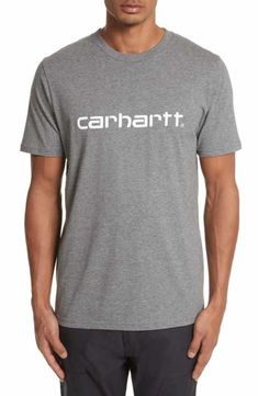 embroidered logo T-shirt - Blue Carhartt Work in Progress Newest Online Recommend Wide Range Of Cheap Price 8WRZKnx