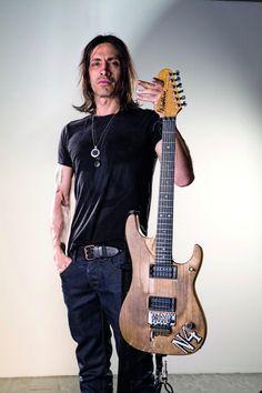Portuguese guitarist Nuno Bettencourt, lead guitarist of American...
