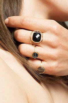 Jouez, accumulez, changez, créez votre style. Pierres interchangeables, bijoux en or 18kt - Paola Zovar
