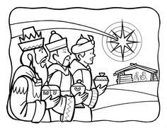 Familia Católica: Páginas para Colorear sobre la Epifanía (Reyes ...
