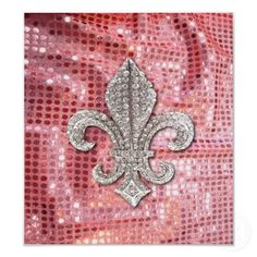 Fleur De Lis Flor New Orleans Jewel Poster. Also Design on over 70 other products