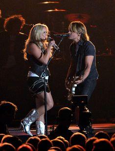 "Miranda Lambert and Keith Urban singing ""We Were Us"""