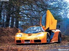 McLaren F1 LM. Fast. Exotic. Rare. Orange. What's not to like?