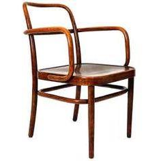 Bentwood Chair by Gustav Adolf Schneck, Austria circa 1930
