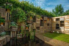 'Le Jardin des poules'  Festival International des Jardins de Chaumont-sur-Loire 2014