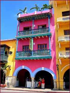 Cartagena, Colombia, a coastal city in Colombia.