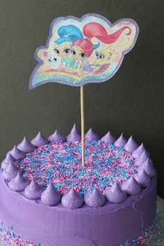 Shimmer & Shine Birthday Cake — What's Cooking on Planet Byn