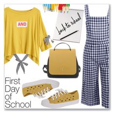 """""""Campus Chic: First Day of School (Casual Chic)"""" by jecakns ❤ liked on Polyvore"""