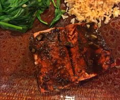 healthy salmon recipe, balsamic salmon recipe, healthy balsamic salmon, Autumn Calabrese, 21 Day Fix Dinner recipe Healthy Weekend Meals, Balsamic Salmon, Gourmet Recipes, Dinner Recipes, Salmon Marinade, Healthy Salmon Recipes, Easy Cooking, Italian Recipes, Food Print
