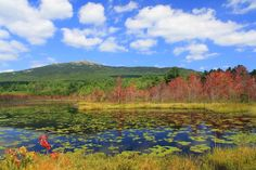 Mount Monadnock in the fall.