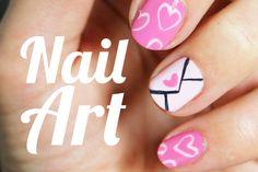 Manicura de corazones ideal para San Valentín | Nail art paso a paso