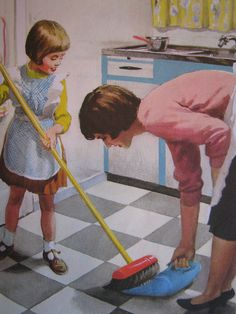 I am helping to sweep the floor by Heart felt, via Flickr