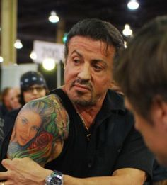 Sylvester Stallone - Tattoos.net